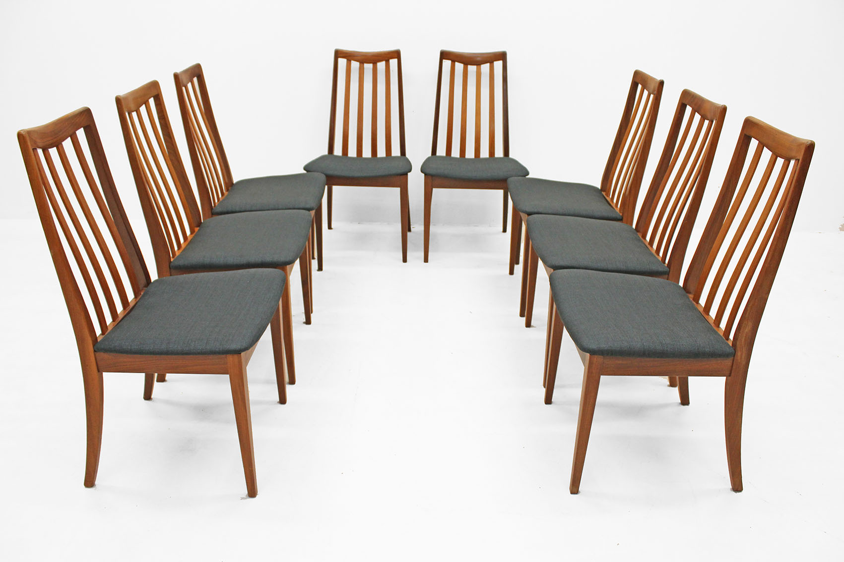 set of 8 chairs by G-plan
