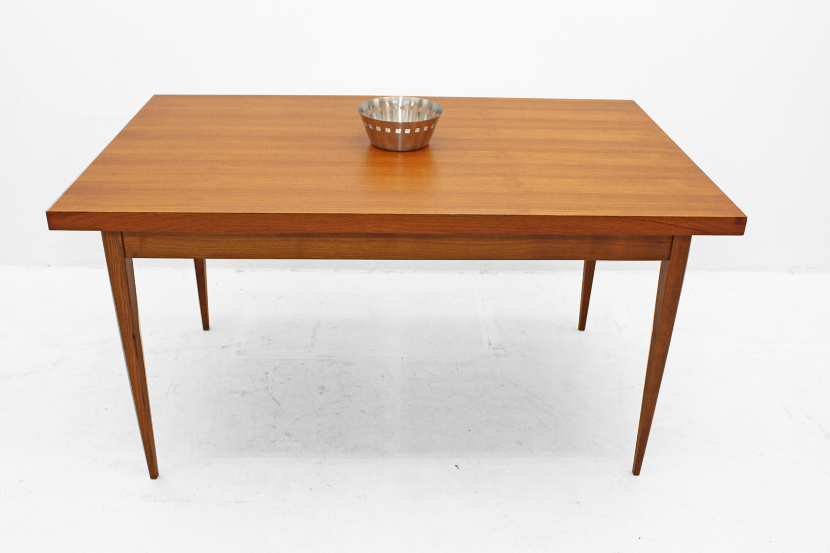 Dining table from the sixties in teak