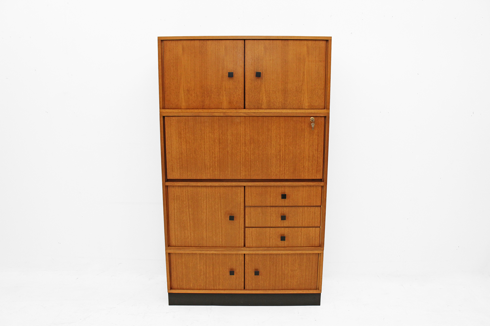 office cabinet with secretary compartiment