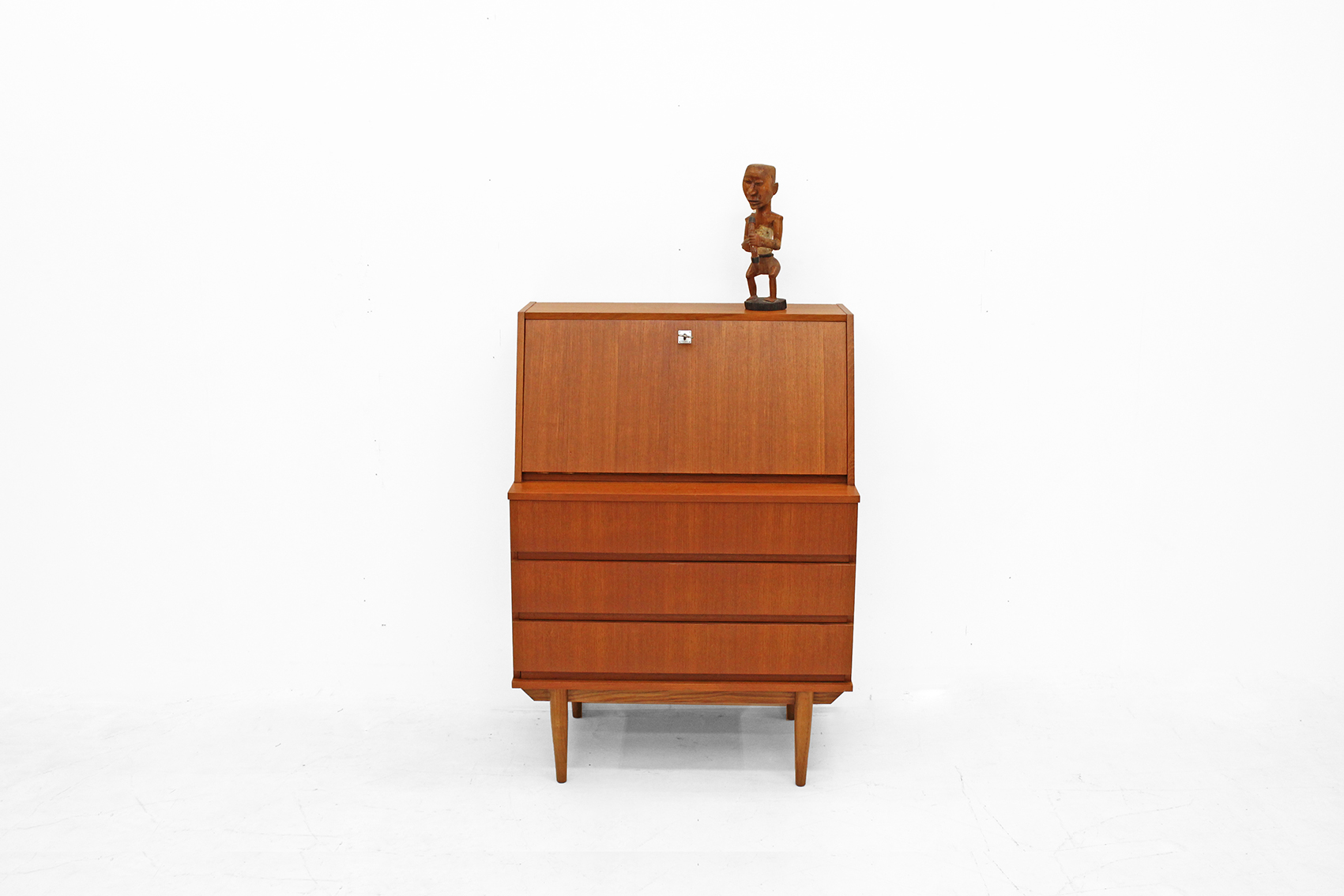 Very nice secretary in teak