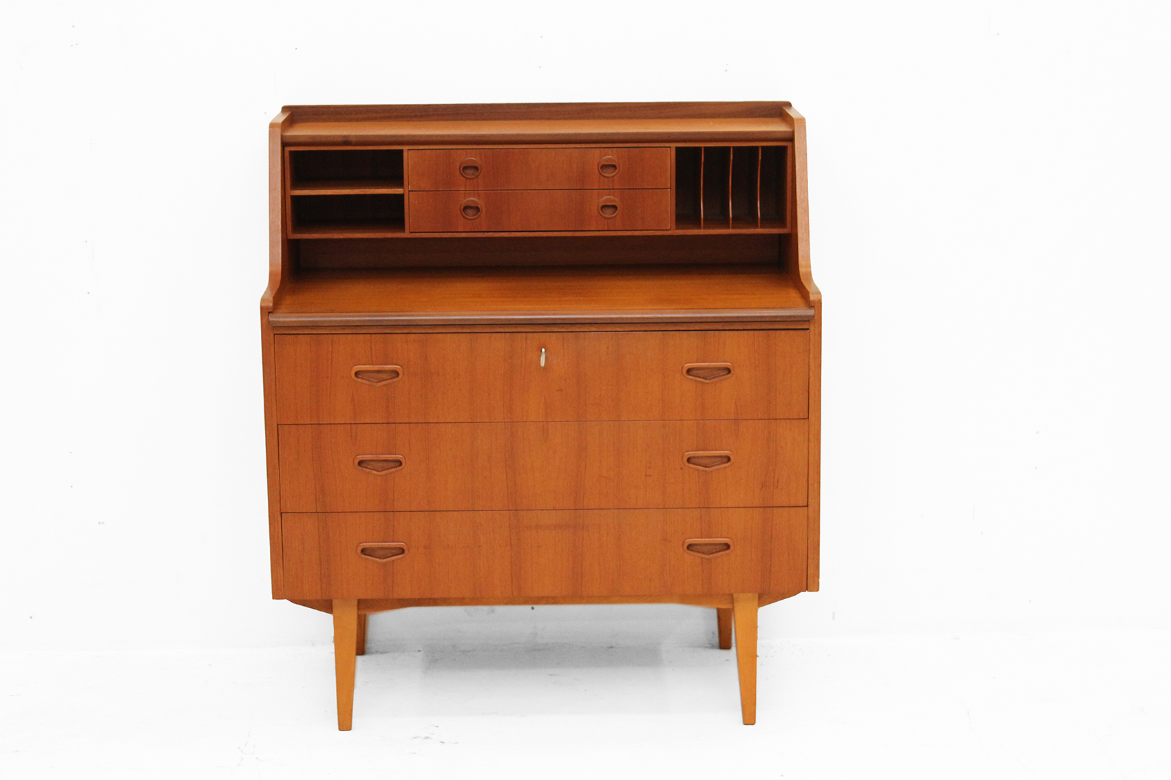 Danish secretary cabinet in teak