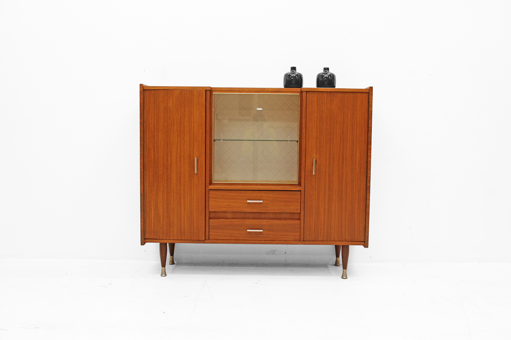 Late fifties smaller showcabinet