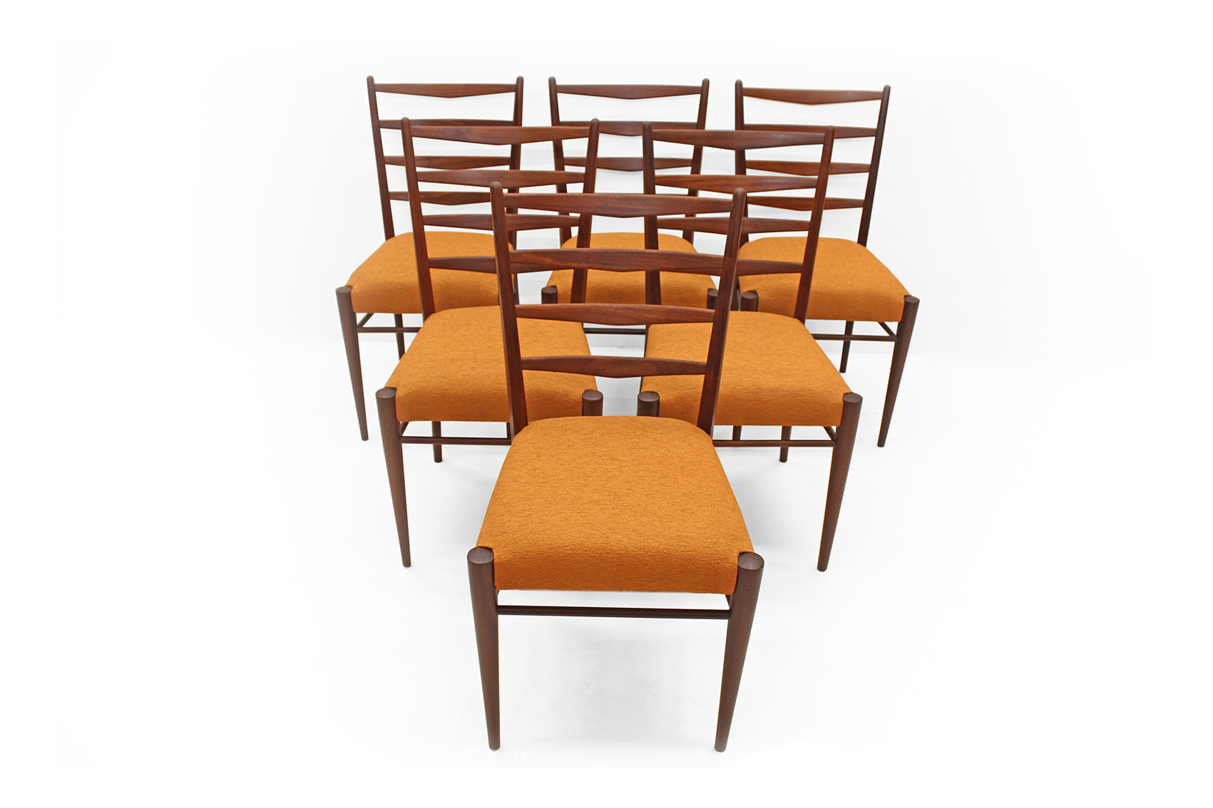 set of six chairs sixties